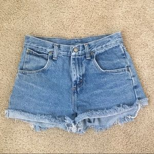Wrangler Cutoff Denim Shorts